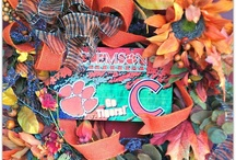 Clemson Wreaths / by Clemson Girl
