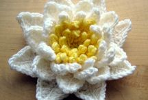 Crochet flowers / by Pat Scarbrough