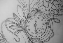 Tetoválás minták idő