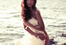 Boudoir bride photo