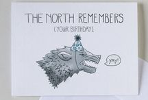 B-day and N-day cards