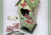 Чайные домики   и шкатулки ручной работы  Tea houses and boxes handmade / Tea houses and boxes handmade