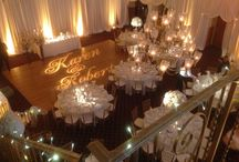 Lighting /  Shipley Enterprises specializes in unique event decor and design such as lighting, drapes, dance floors, gobos, chuppahs, chandeliers, and more