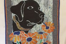 2 Fabric Applique Quilts using Pacific Rim Quilt Company Patterns created by our customers