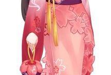Cute looking anime dresses