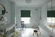 bathroom interiors / by Emma McCracken