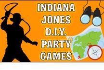 Indiana jones party ideas