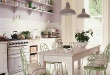 vintage kitchen ideas / by Funky Junk Sisters