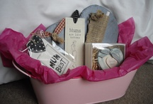 Gift Hampers / These lovely hampers are all made by www.chickenshedgifts.co.uk based in the UK.
