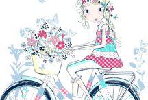 virág-lány