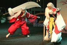 InuYasha and Sesshoumaru from InuYasha.