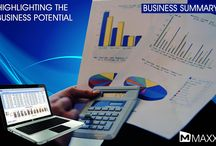 Business Summary / Business Summary is often considered the most important section of a business plan. This section briefly shows the details of all the transactions took place in business... http://maxxerp.blogspot.in/2013/09/maxx-highlighting-business-potential.html