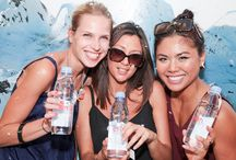 evian Brings the French Alps to the United Arab Emirates / Real Sampling Experience Dubai & Abu Dhabi Hotspots - June 2014 / by evian