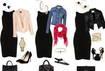 How to wear a little black dress...