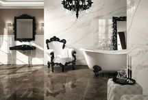 Mad for Marble / With advancements in inkjet printing, Italian tile companies are able to emulate the elegance of marble or put their own graphic spin on it!