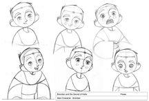 Character Boy Kids Art
