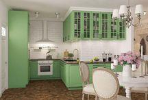 Дизайн гостиной и кухни