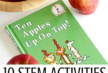 maçãs experiência com crianças