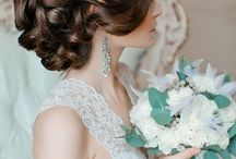Brunette Beauties / Complimentary looks for brunette brides