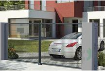 Ogrodzenia panelowe / Tutaj będziemy prezentować metalowe ogrodzenia panelowe wykonane z drutu stalowego.