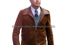 Allied Brad Pitt Brown Suede Leather Jacket / Get this newly Max Vatan Allied Brown Leather Jacket at most affordable price from Sky-Seller and avail free Shipping.