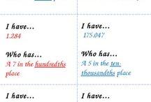 maths decimals