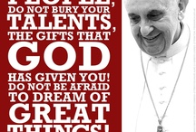POPE FRANCIS I LOVE YOU / Love, the way God created you to love. Learn from this Pope. He is sent from Heaven. Open your mind! Open your heart!
