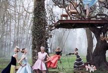 Dior Secret Garden Ad campaign