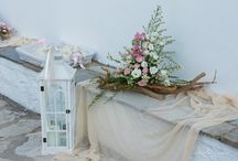 Driftwood romance / romantic wedding