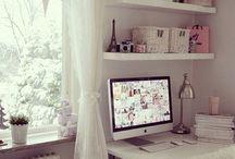 quartos/mini escritórios