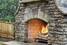 Outdoor Fireplaces / by Melissa Jones Callahan
