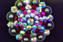 Bling Conchos/Buckles / We custom design conchos and buckles for tack, necklaces, rings, and dog collars, let us know what colors, size, and how many you need us to bling! www.pamperedcowgirl.com