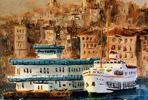 İstanbul tablo