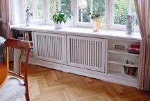 Window Seats With Radiator Cabinets