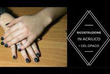 unghie / ricostruzione unghie sia in gel che in acrilico e nail art