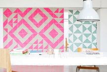 Funky tiles in your interior
