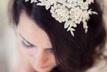 Bridal head ware