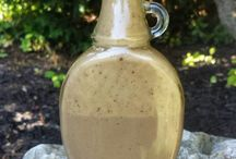 Oil free dressings & sauces