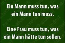 Lustige Sprüche/Zitate