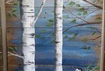 Malowane na desce