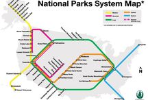 National Parks Subway Map / by Sierra Club