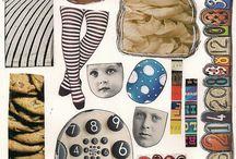 Collage sheet