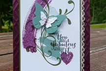 background stampin up