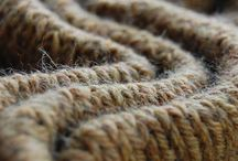Knit and wool in natural, beige, creme...