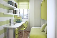 Narrow Office Ideas