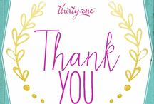 """Thirty-One """"thank you"""""""