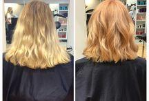Hair coulour + cut