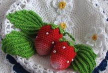 Crochet - frutta verdura