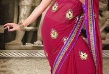 Indian bridal, wedding and bollywood saris (sari) - Kaneesha