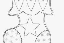Graficos Patch Aplique / Desenhos e gráficos para a técnica do Patch aplique